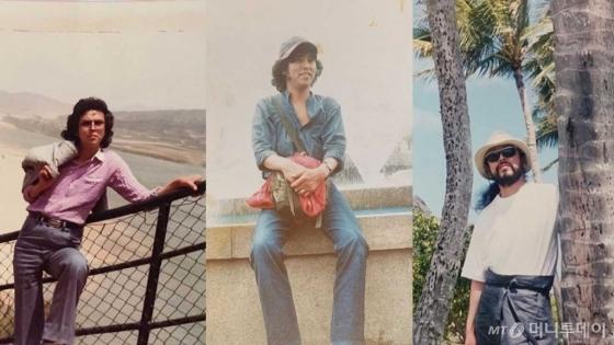 시니어 모델 김칠두씨의 20대 시절. 옷, 색깔 매치 등으로 자신을 꾸미는 것에 관심이 많았다고 한다. /사진=김칠두 인스타그램(@cildugim)
