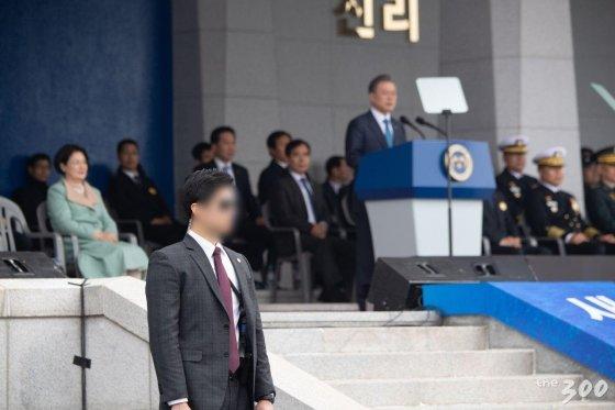 올해 해군사관학교 졸업 및 임관식 사진. /사진=청와대 제공