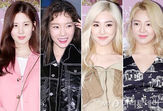 그룹 소녀시대 서현, 태연, 티파니, 효연/사진=뉴스1, 김창현 기자