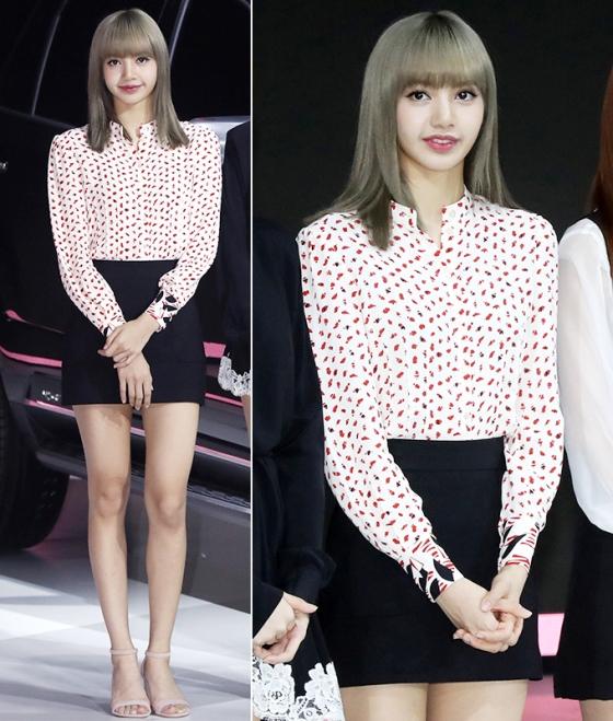 서울모터쇼 참석한 블랙핑크…패션 보니 '러블리'