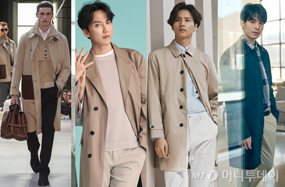 (두번째 사진부터) 배우 김남길, 원빈, 이동욱 /사진제공=버버리, 하이컷, 장 미쉘 바스키아, 웰메이드