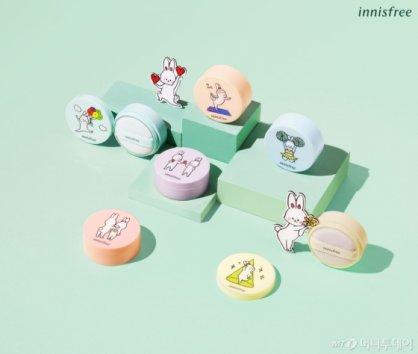 이니스프리, '귀여운 토끼 베니 x 노세범' 컬렉션 출시