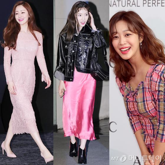 배우 오나라, 그룹 소녀시대 태연, 배우 조보아 /사진=머니투데이 DB
