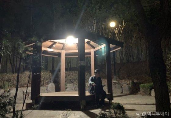 고요한 밤은, 산책을 하기에 좋았다. 중간 중간 앉았다가, 아내와 발맞춰 걸었다가. 그렇게 하루 내내 지쳐 무거워진 몸을 쉬게 해줬다./사진=남형도 기자 아내