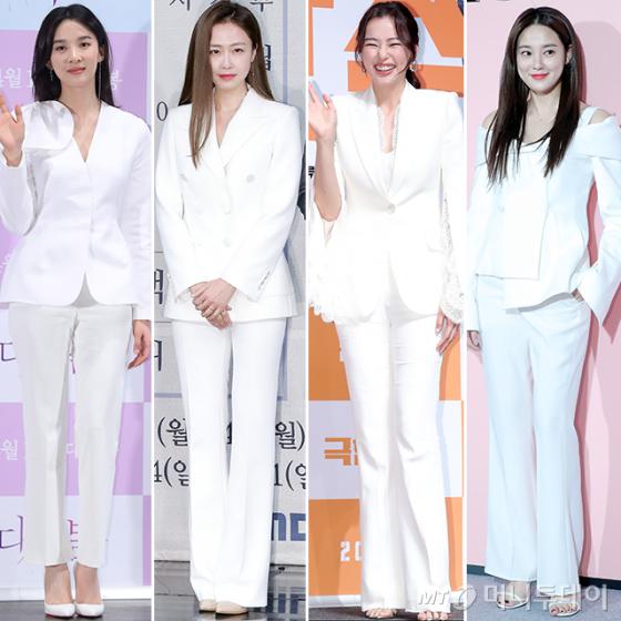 배우 이청아, 홍수현, 이하늬, 이주연 /사진=머니투데이 DB