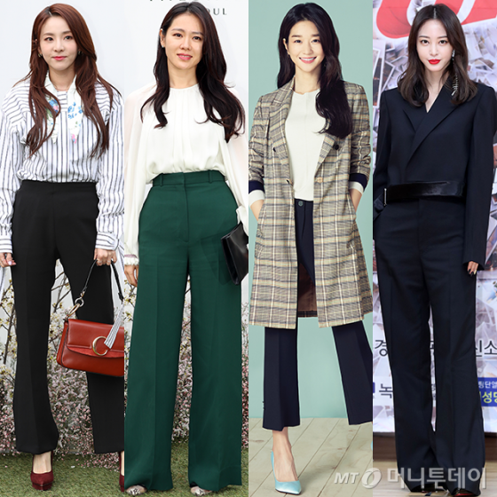 가수 산다라박, 배우 손예진, 서예지, 한예슬 /사진=머니투데이 DB, 올리비아 로렌