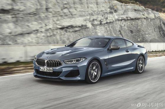 BMW 뉴 8시리즈 쿠페. /사진제공=BMW