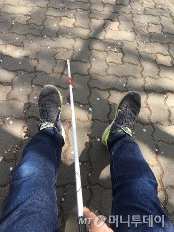 걷는 일이 이리 힘든 줄 몰랐다./사진=남형도 기자