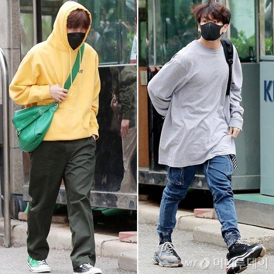 그룹 방탄소년단 제이홉, 정국 /사진=김창현 기자