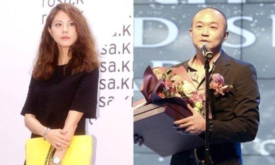 가수 박지윤(왼쪽)과 조수용 카카오 대표/사진=머니투데이DB, 뉴시스