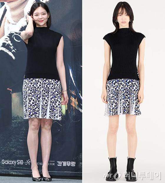 배우 이솜, 모델 최소라/사진=머니투데이 DB, 루이 비통 공식 홈페이지