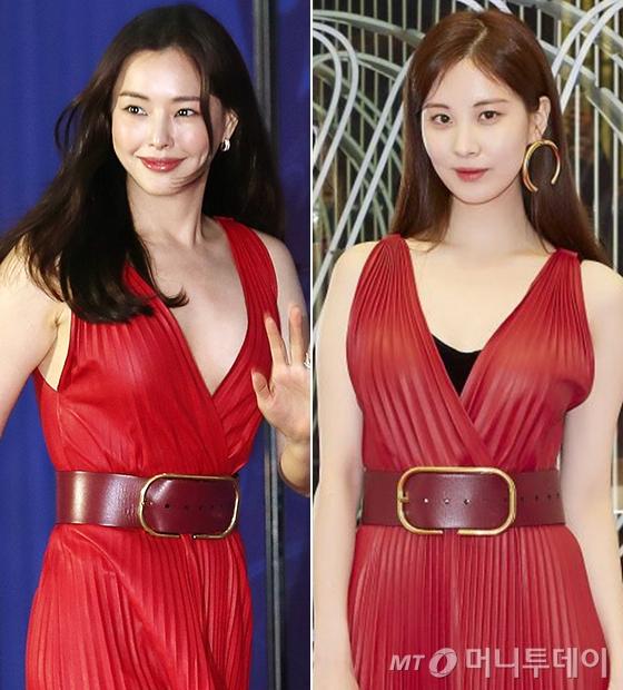 배우 이하늬, 그룹 소녀시대 서현/사진=김휘선 기자, 발렌티노