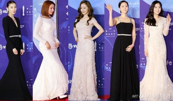 배우 김서형, 윤세아, 오나라, 염정아, 김혜윤 /사진=김휘선 기자