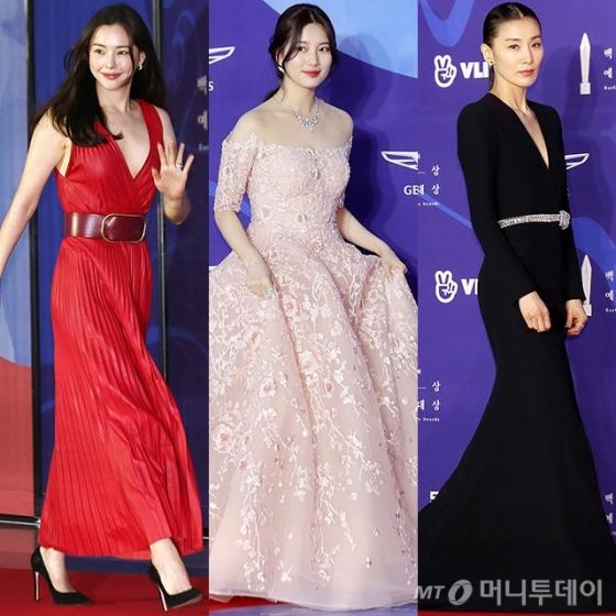 배우 이하늬, 수지, 김서형 /사진=김휘선 기자