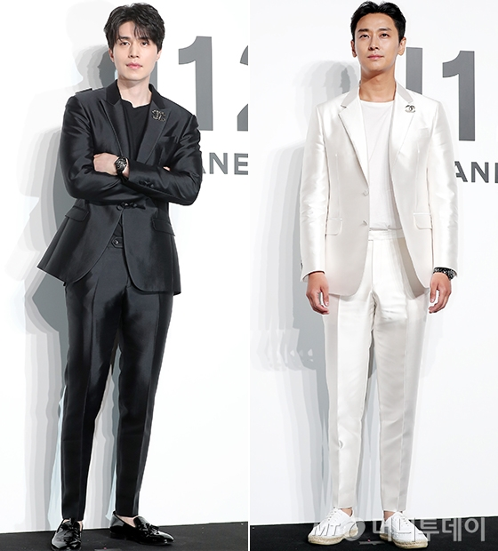 배우 이동욱, 주지훈/사진=김창현 기자