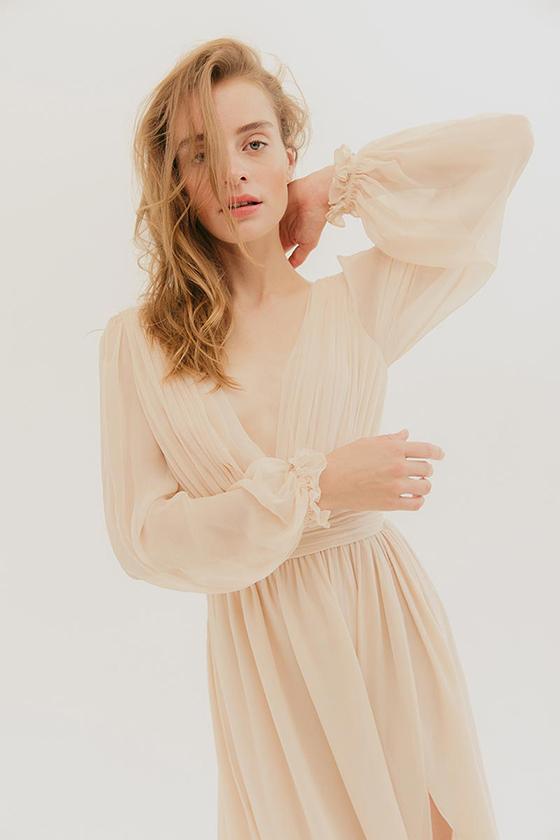 제니퍼 로렌스가 선택한 '엘 웰스'의 줄리아나 드레스/사진=L.Wells 공식 홈페이지
