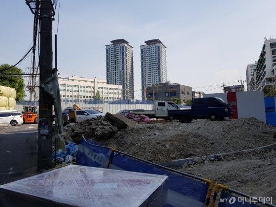 철거가 진행되고 있는 6-3-3, 4구역 전경. /사진=유엄식 기자