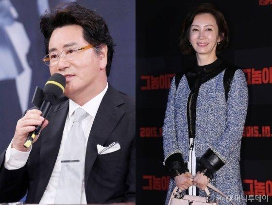 배우 유동근(좌측)·전인화(우측)/사진=김휘선 기자·박찬하 인턴기자