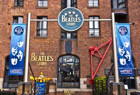 영국 리버풀에 위치한 비틀스 상설 전시관 '비틀스 스토리'.