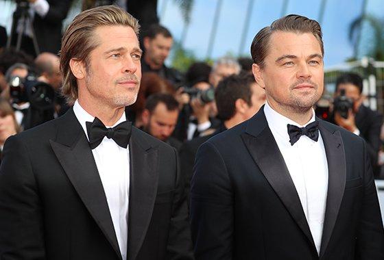 배우 브래드 피트, 레오나르도 디카프리오/사진=Reuters