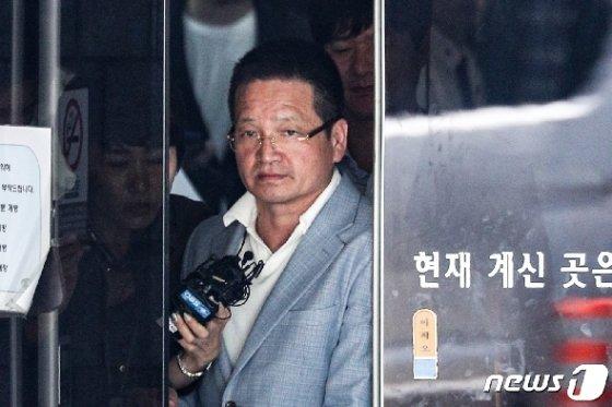 김학의 사건'의 핵심 인물인 건설업자 윤중천씨(58)© News1 성동훈 기자
