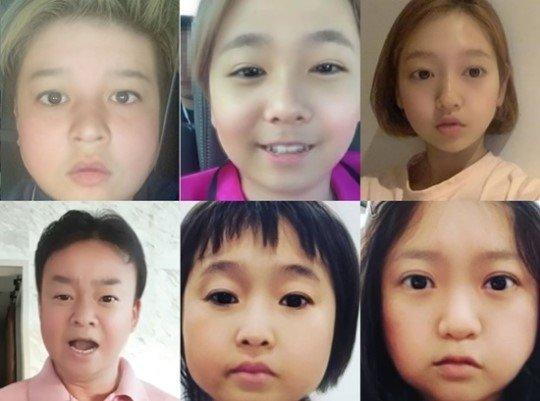 시계방향으로 신동, 이홍기, 박신혜, 김숙, 송은이, 백종원./사진=SNS 캡처