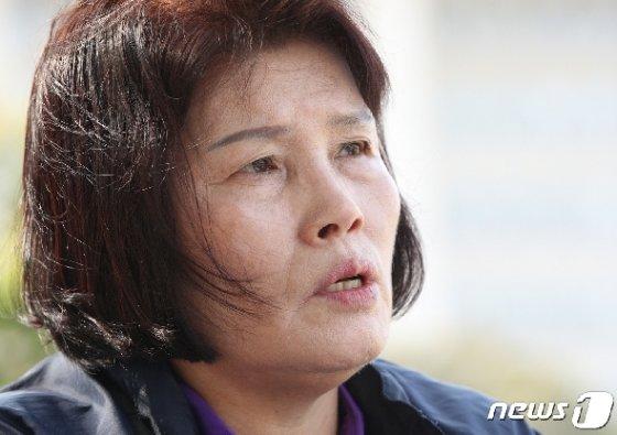 1987년 8월 해운대 바닷가에서 실종된 홍봉수(현재 만 35세)씨의 어머니 오승민씨가 16일 오후 서울 여의도 국회에서 뉴스1과 인터뷰를 하고 있다. 2019.5.16/뉴스1 © News1 신웅수 기자