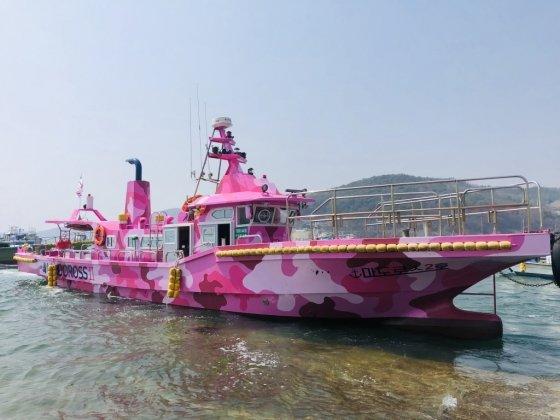 마도로스가 직접 운영 중인 배 낚시 선박. /사진=마도로스