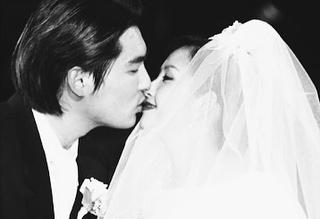 故 조성민, 최진실 결혼 사진/사진=최준희 인스타그램