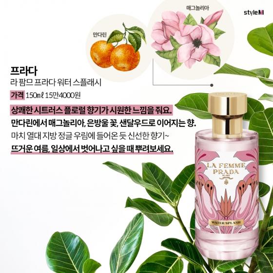[카드뉴스] '과즙미' 톡톡!…싱그러운 여름 향수 6