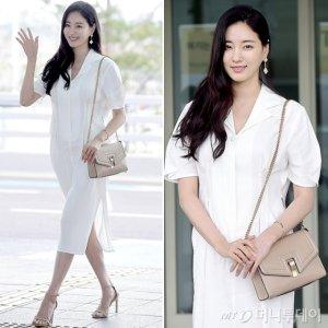 김사랑, 화사한 공항 패션…청순미 '폭발'