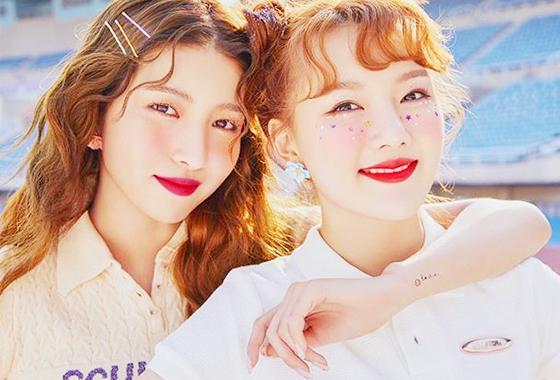 그룹 여자친구 소원, 예린/사진=여자친구 인스타그램
