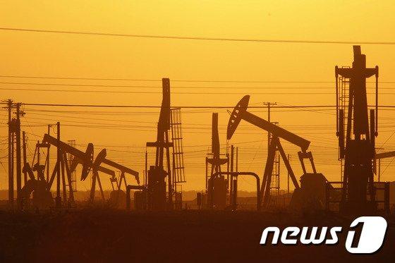 미국의 셰일유 유전지대. © AFP=뉴스1