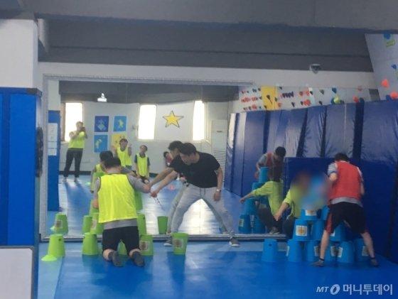 발달장애인들에 그동안 체육 시설이 '치료 목적'에 초점이 맞춰져 있었다면, 베어베터와 제휴를 맺고 있는 별별센터는 발달장애인들이 즐겁게 체육 활동을 할 수 있게 돕는다./사진=남형도 기자