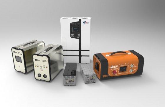엠텍정보기술이 개발한 하이브리드 연료전지 파워팩의 모습./사진제공=엠텍정보기술