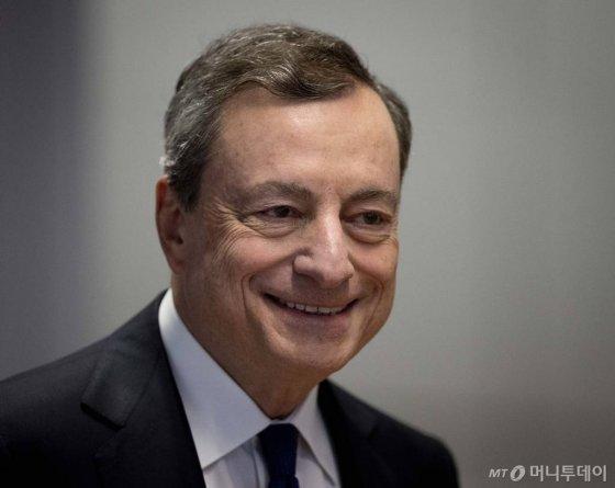 마리오 드라기 유럽중앙은행(ECB) 총재/ 사진=뉴시스