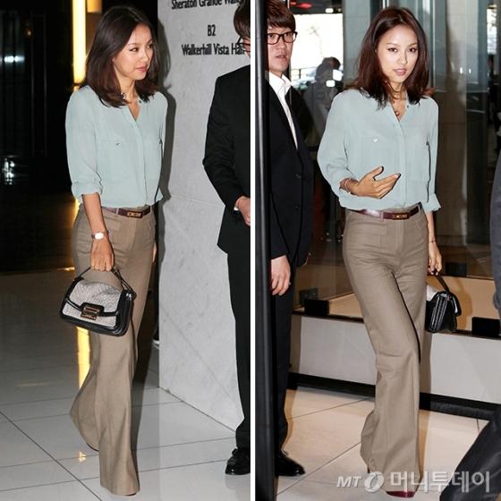 지난 2011년 3월11일 이천희 전혜진 결혼식에 참석한 가수 이효리 /사진=머니투데이 DB
