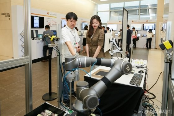 클라우드 끌고 AI 밀고…LG CNS, 디지털혁신 가속화 - 머니투데이 뉴스