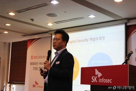 """이용환 SK인포섹 대표 """"5G 시대, '초보안'으로 융합보안 시장 이끈다"""" - 머니투데이 뉴스"""