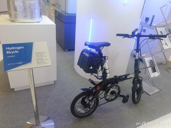 수소자전거·VR체험…알기 쉬운 수소경제 - 머니투데이 뉴스