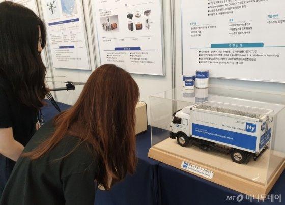 일본보다 800배 효율적인 수소충전소 개발한 스타트업 - 머니투데이 뉴스