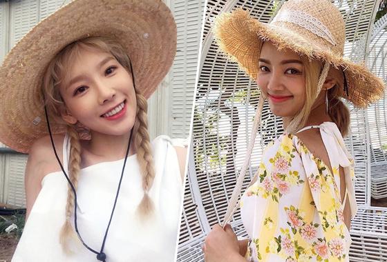 그룹 소녀시대 태연, 효연/사진=태연 효연 인스타그램