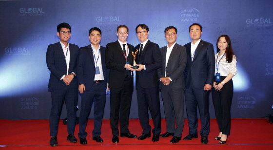두산重 '올해의 ESS 프로젝트 상' 수상 - 머니투데이 뉴스