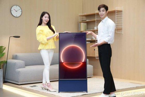 삼성 '더세로' TV 판매 한달, 반응 뜨겁긴한데... - 머니투데이 뉴스