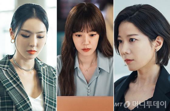 배우 이다희, 임수정, 전혜진 /사진=tvN '검색어를 입력하세요 WWW' 공식홈페이지