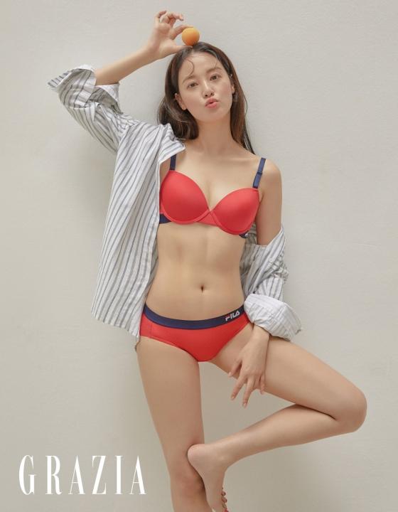 배우 이주연/사진제공=휠라 언더웨어