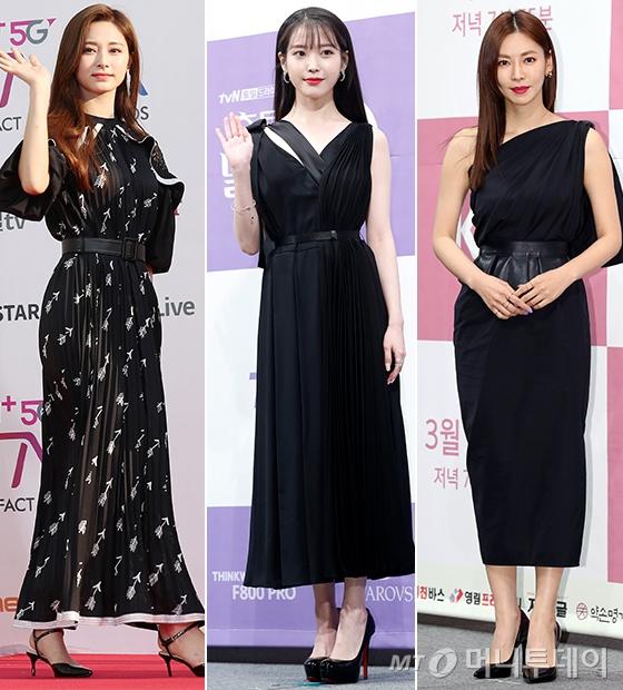 그룹 트와이스 쯔위, 가수 겸 배우 아이유, 배우 김소연/사진=머니투데이 DB