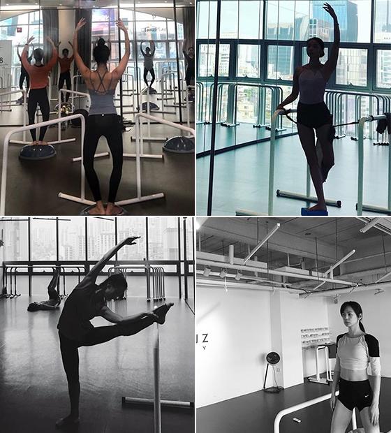 왼쪽부터 시계 방향으로 배우 오윤아, 윤승아, 조여정/사진=각 스타 인스타그램