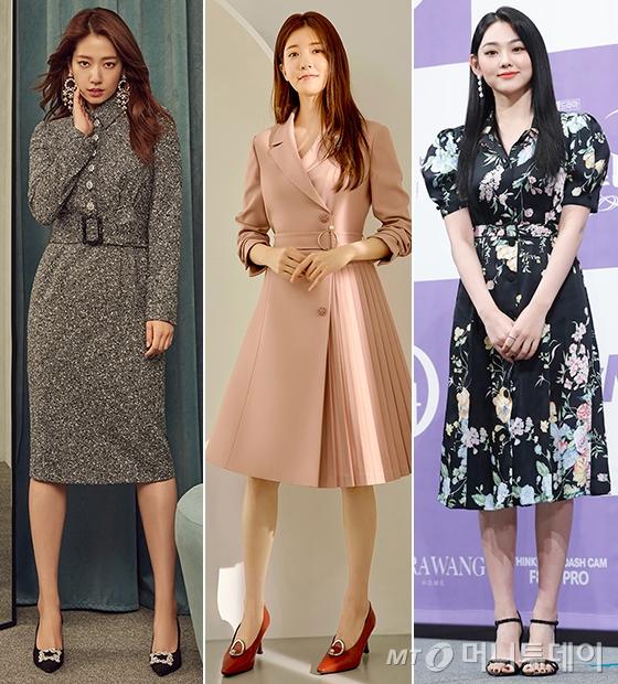 배우 박신혜, 정은선, 그룹 구구단 강미나/사진=모조에스핀, 미센스, 머니투데이 DB