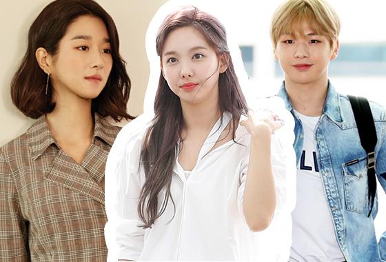 배우 서예지, 그룹 트와이스 나연, 가수 강다니엘/사진=올리비아 로렌, 뉴스1, 머니투데이 DB